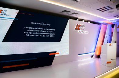 PKP Intercity -Konferencja Prasowa